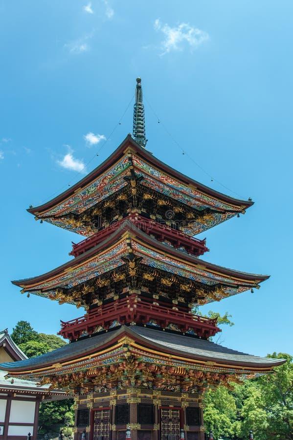 pagoda de Narita-San photos libres de droits