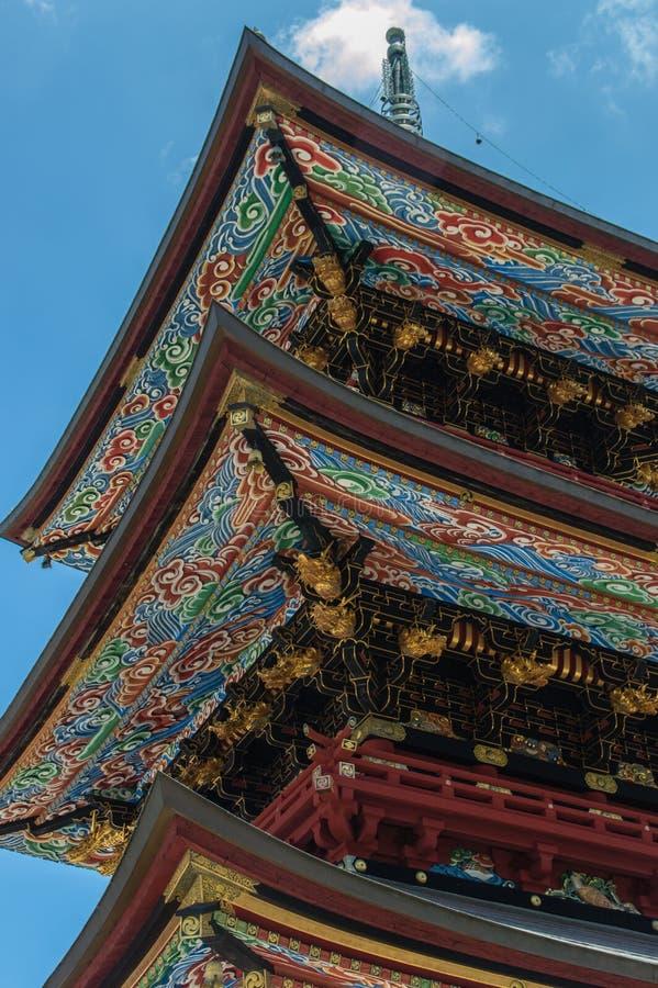 pagoda de Narita-San photographie stock