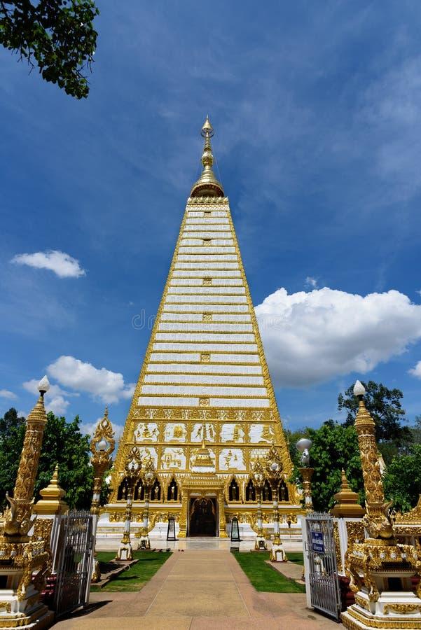 Pagoda de Nong Bua en Tailandia fotos de archivo