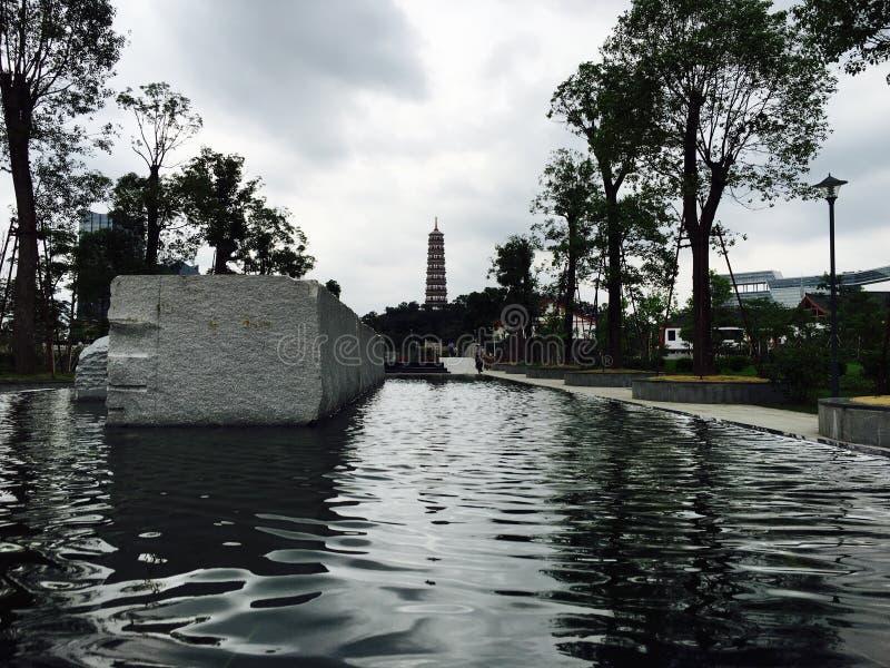 Pagoda de Pazhou fotografía de archivo