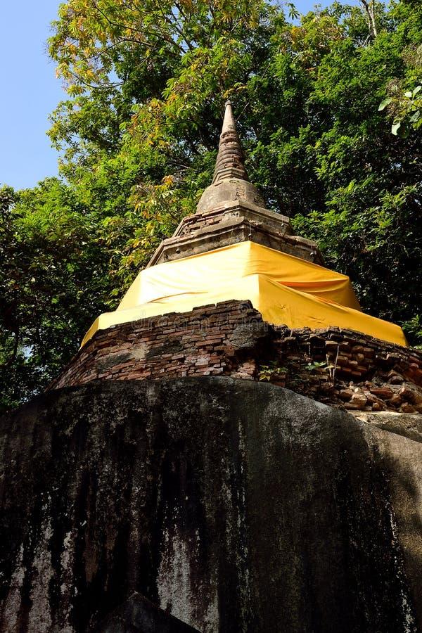 Pagoda de Pha - de Ngao photographie stock libre de droits