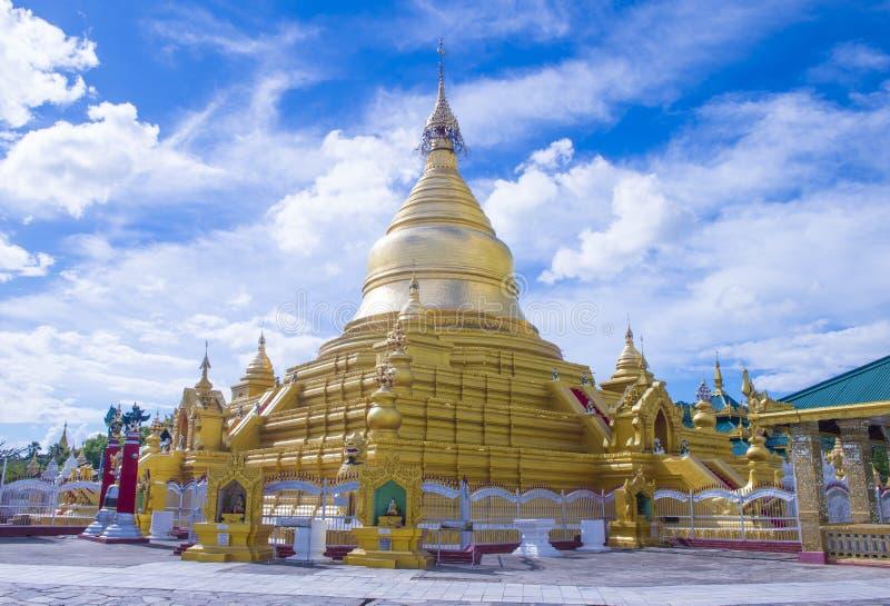 Pagoda de Sandamuni à Mandalay, Myanmar image stock