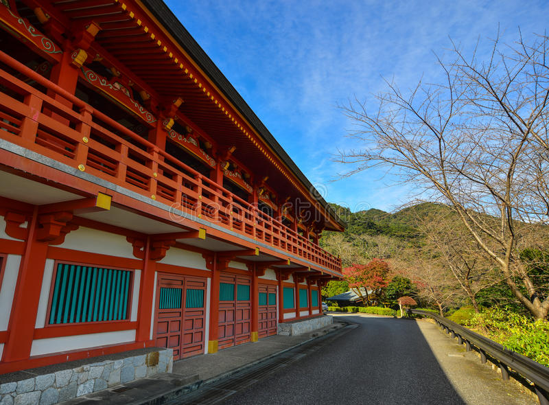 Pagoda de Seigantoji dans Nachi, Japon photos libres de droits