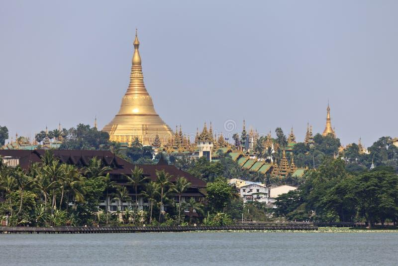 Pagoda de Shwedagon photographie stock libre de droits