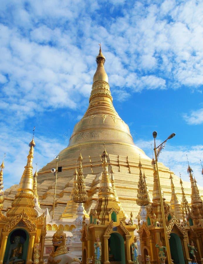 Pagoda de Shwedagon dans les attractions touristiques de Yangon, de point de repère et de no. 1 dans Myanmar (Birmanie). images stock