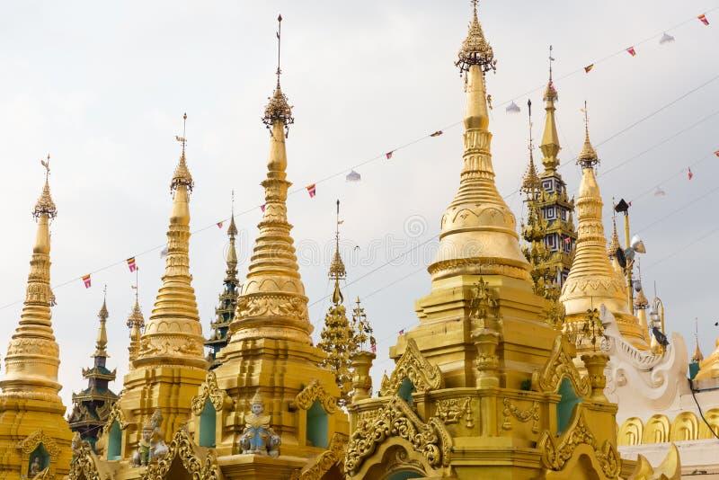 Pagoda de Shwedagon, Yangon, Myanmar photo stock