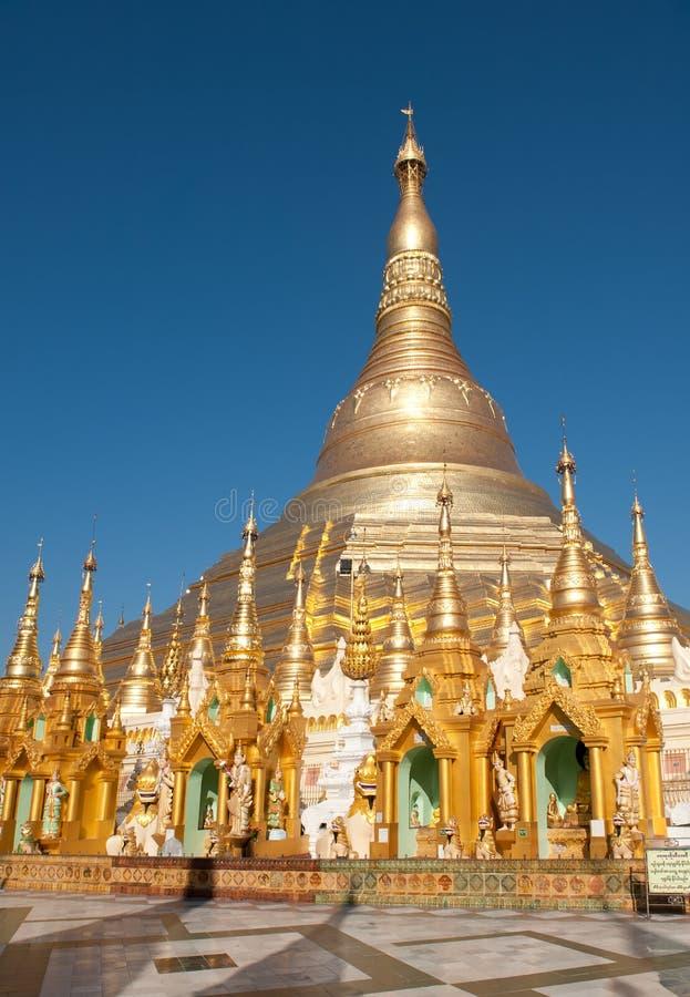 Pagoda de Shwedagon, Yangon, Myanmar foto de stock royalty free