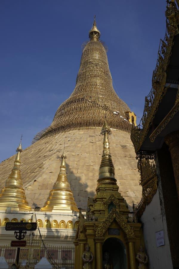 Pagoda de Shwedagon, Yangon, Myanmar images stock