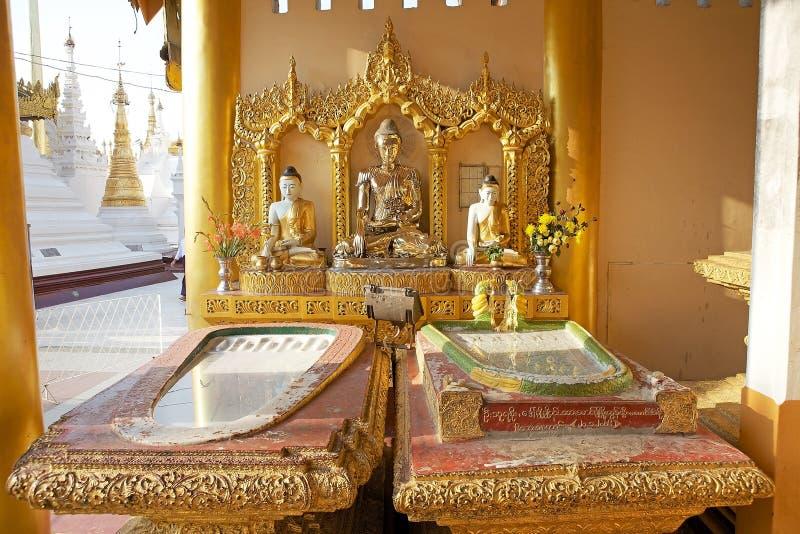 Pagoda de Shwedagon, Yangon, Myanmar image libre de droits