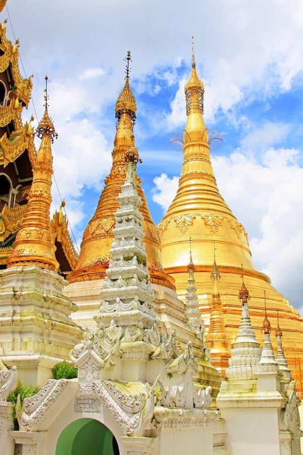 Pagoda de Shwedagon, Yangon, Myanmar photo libre de droits