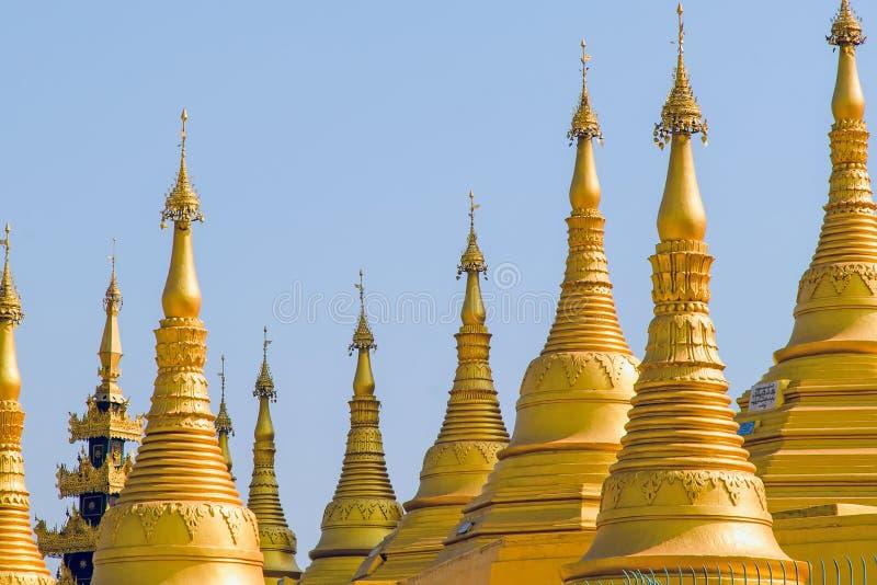 Pagoda de Shwemawdaw. Bago. Myanmar. fotografía de archivo