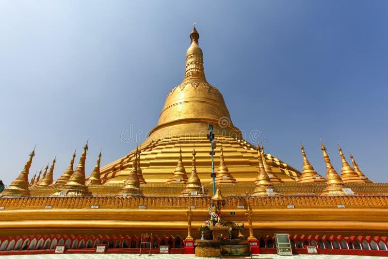 Pagoda de Shwemawdaw, la pagoda la plus grande dans Bago Myanmar photo stock