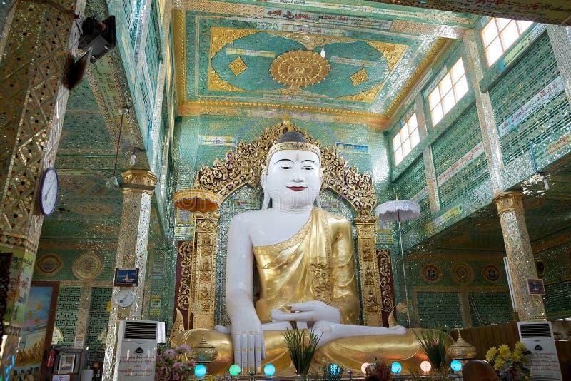 Pagoda de Sone Oo Pone Nya Shin, Myanmar photographie stock libre de droits