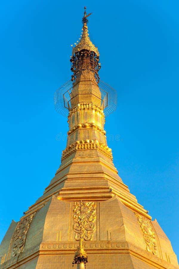 Pagoda de Sule, Yangon, Myanmar. photos libres de droits