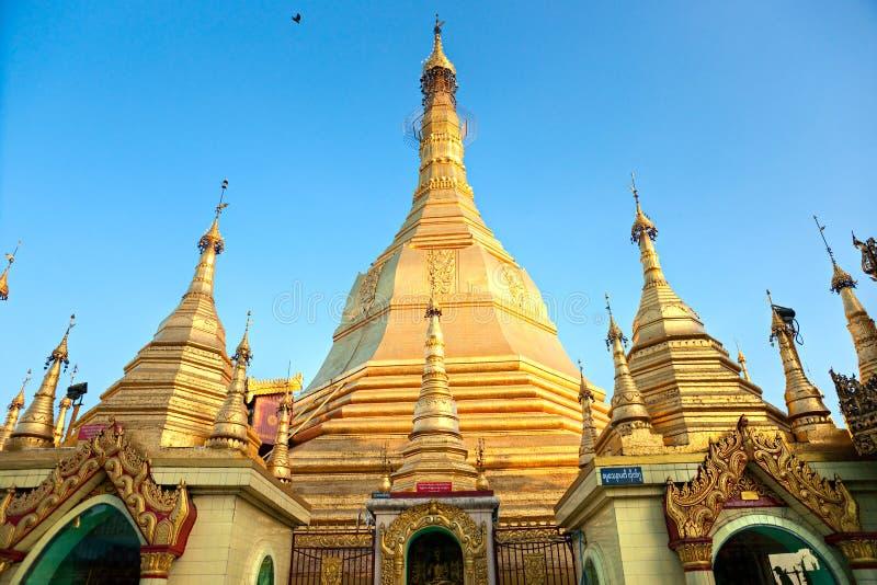 Pagoda de Sule, Yangon, Myanmar. photo libre de droits