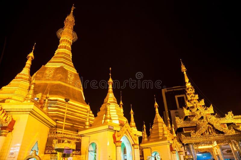 Pagoda de Sule, Yangon, Myanmar. image stock