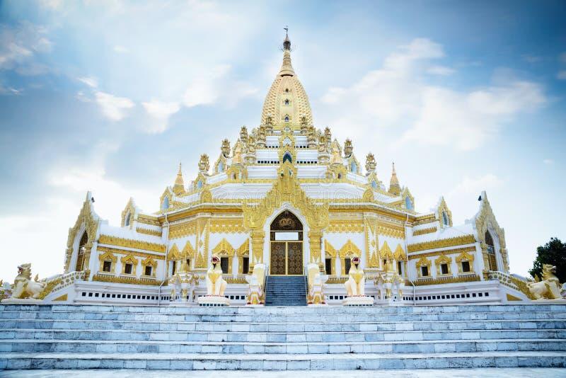 Pagoda de Swal Taw imagen de archivo libre de regalías