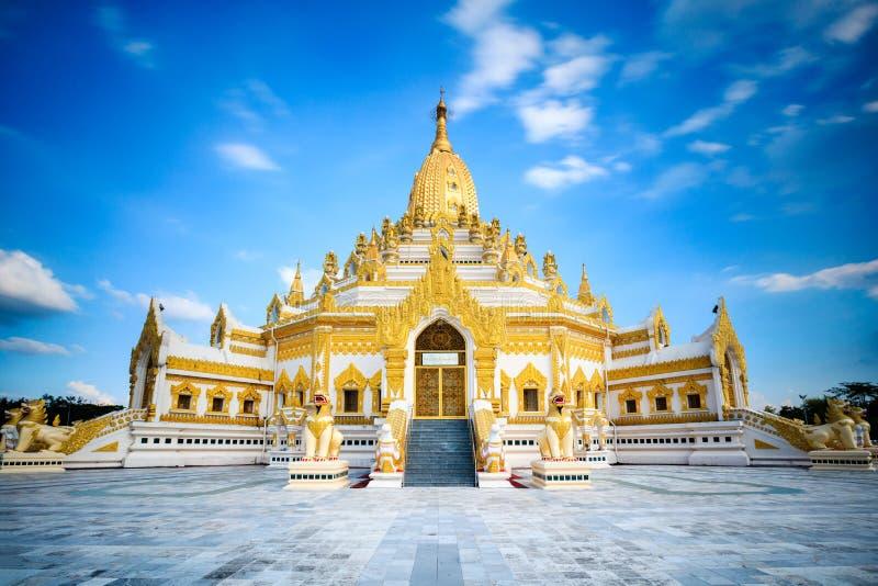 Pagoda de Swal Taw imagenes de archivo