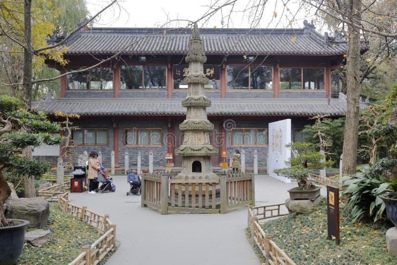 Pagoda de temple de wuhouci, adobe RVB images stock