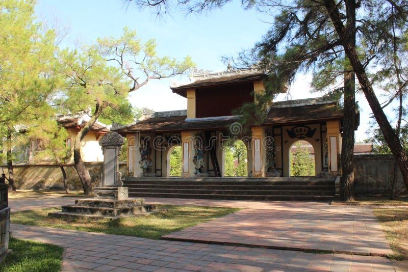 Pagoda de Thien MU images libres de droits
