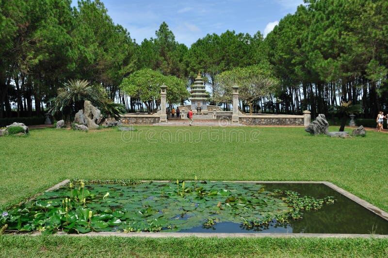 Pagoda de Thien MU imagen de archivo