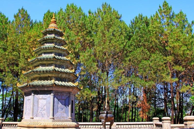 Pagoda de Thien MU, Hue Vietnam photographie stock libre de droits