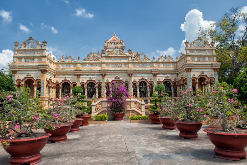 Pagoda de Vinh Trang, Vietnam images libres de droits