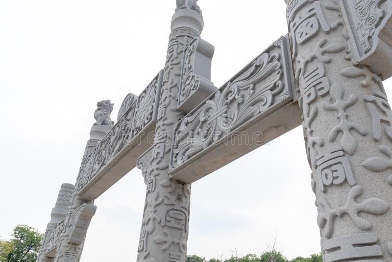 Pagoda de Wanshou de lac elephant d'arcade-Nan-Tchang de souci photo stock