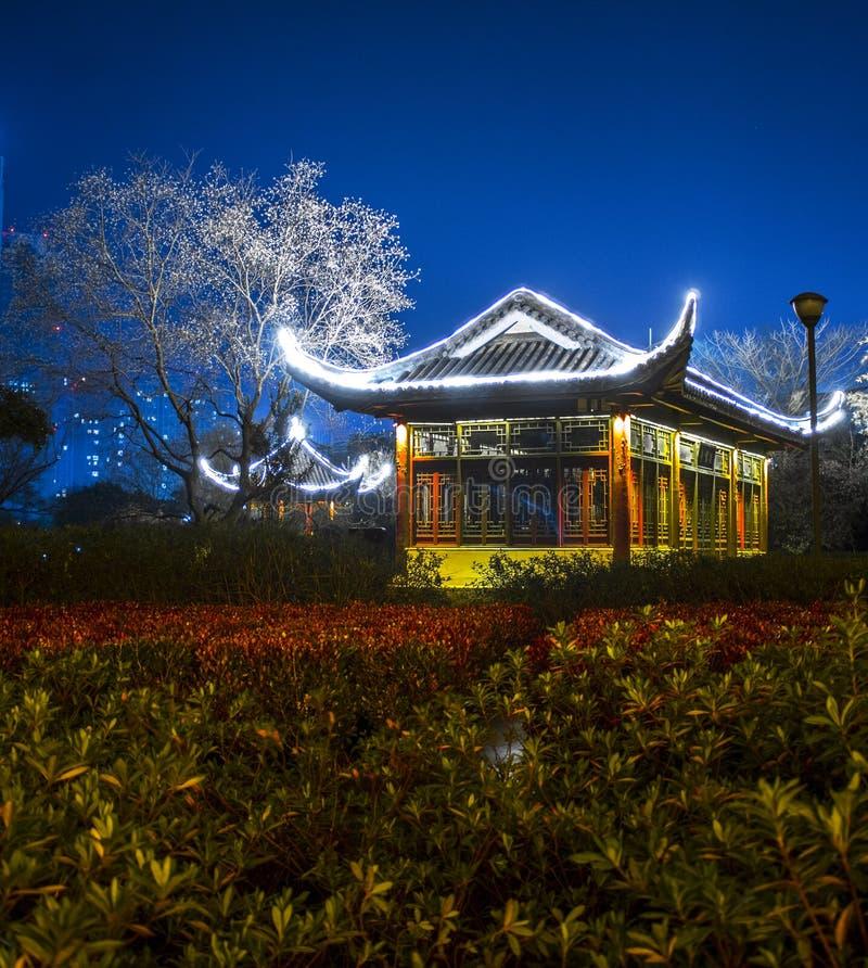 Pagoda de Zhongjiang, WuHu, China imagen de archivo libre de regalías
