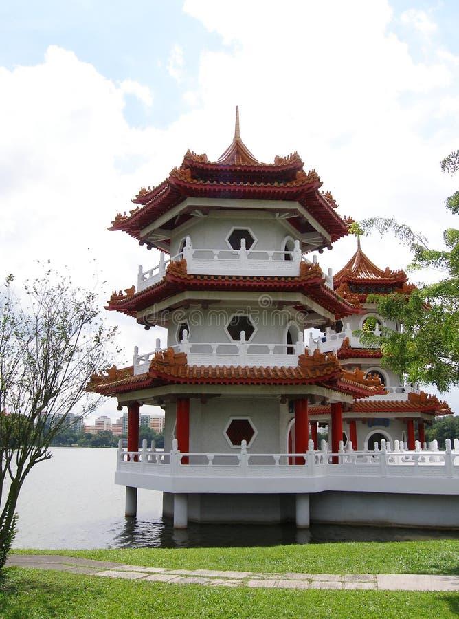 Pagoda del chino tradicional imagen de archivo