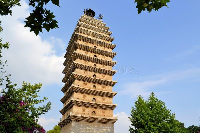 Pagoda del este budista Kunming, Sichuan, China imagenes de archivo