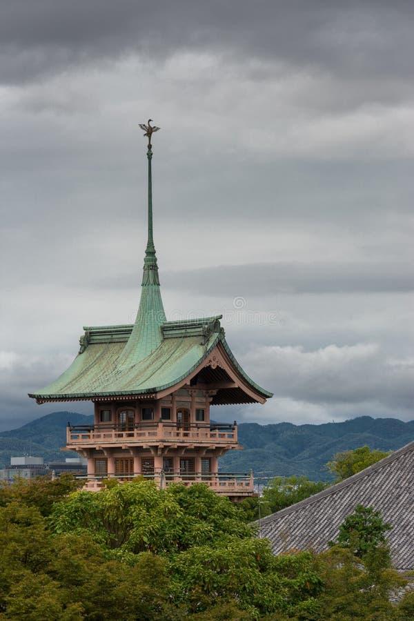 Pagoda del tempio buddista di Daiunin fotografia stock