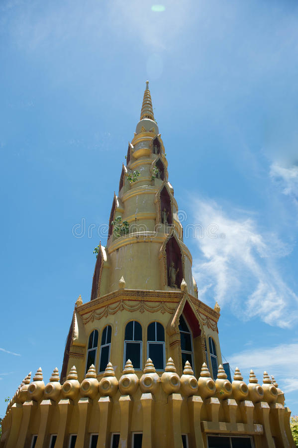 Pagoda del templo foto de archivo libre de regalías