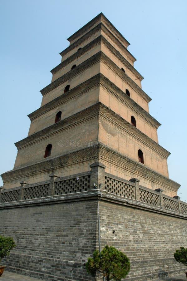 Pagoda del Xian in Xian Cina fotografia stock
