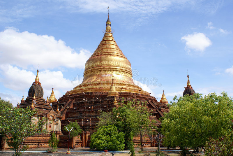 Pagoda Dhamma Yazika dans Bagan photographie stock libre de droits