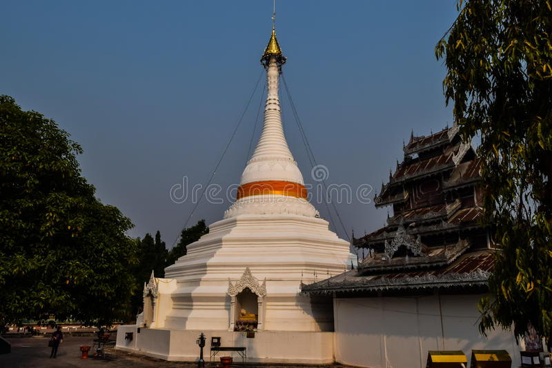 Pagoda di Doi Kong MU immagini stock libere da diritti