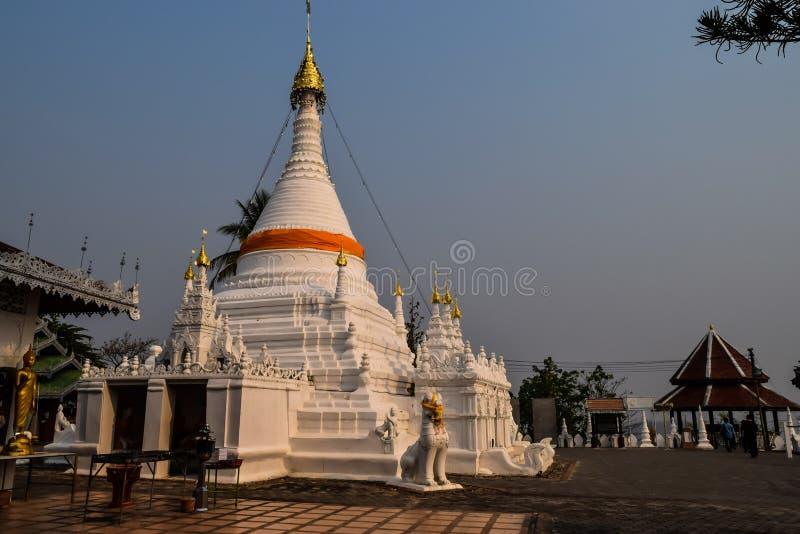 Pagoda di Doi Kong MU fotografie stock