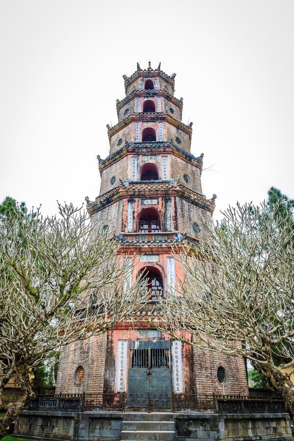 Pagoda di Thien MU fotografia stock