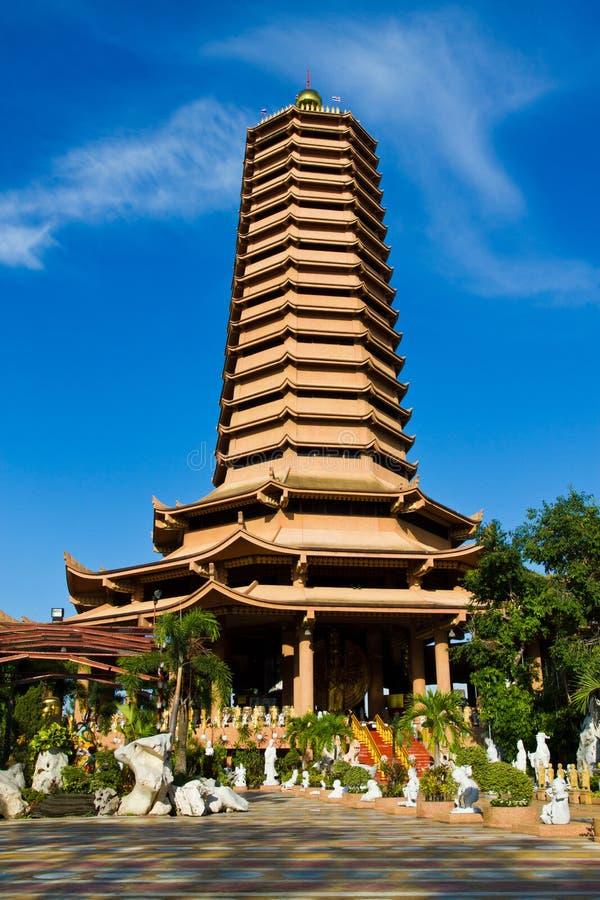 Pagoda do estilo chinês imagem de stock