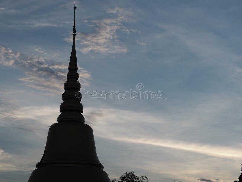 Pagoda em Tailândia fotos de stock