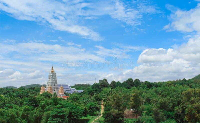 Pagoda fra l'albero immagine stock