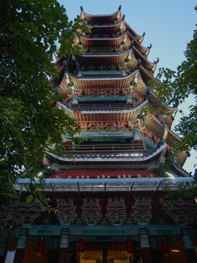 Pagoda a Guilin, Cina immagine stock libera da diritti