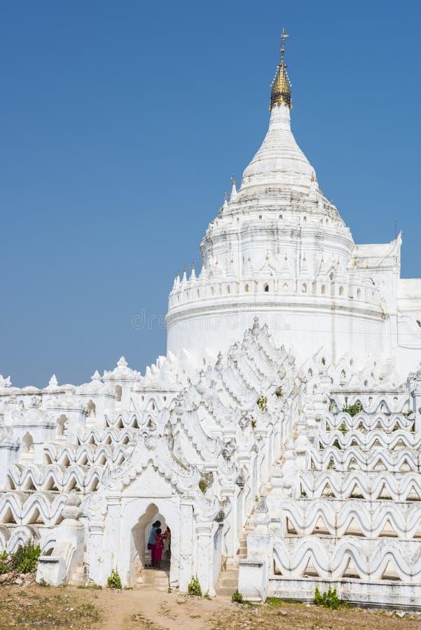 Pagoda Hsinbyume en Myanmar fotos de archivo libres de regalías