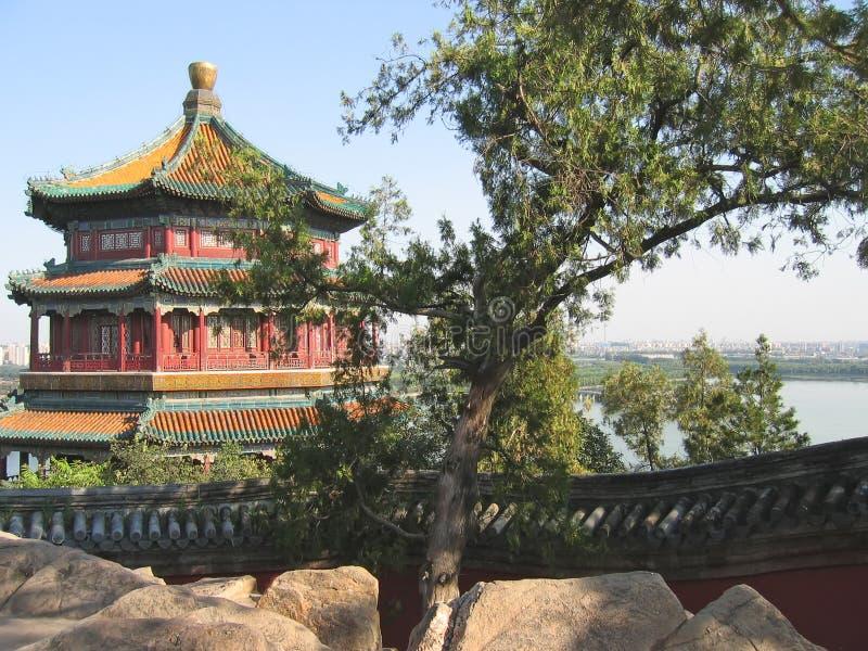 Pagoda imperial, palacio de verano fotografía de archivo