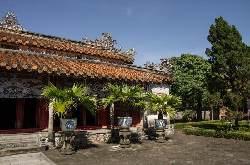 Pagoda inside the citadel of Imperial Forbidden City. Hue. Vietnam royalty free stock photos