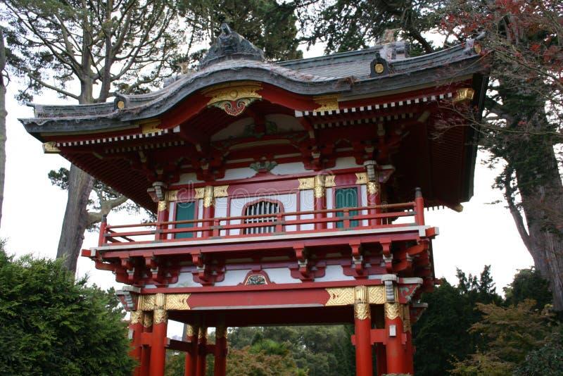 Pagoda japonês foto de stock royalty free