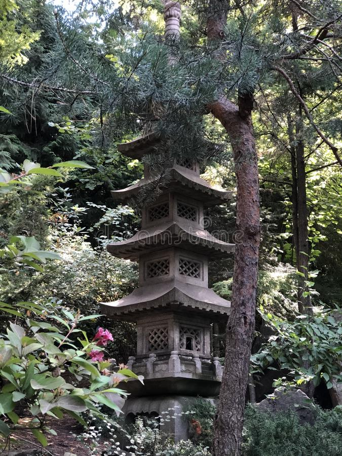 Pagoda japonaise photographie stock
