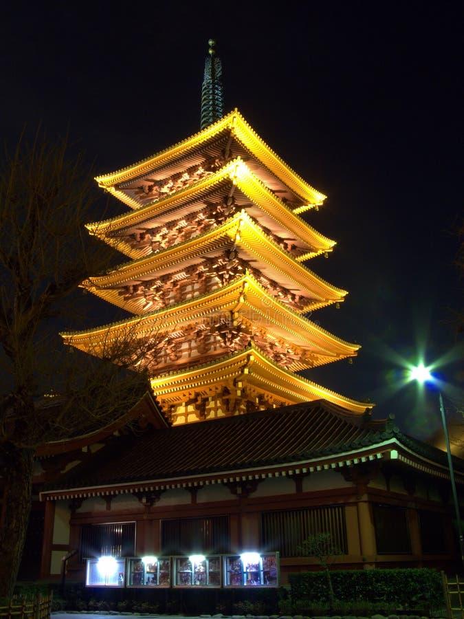 pagoda japonaise image libre de droits