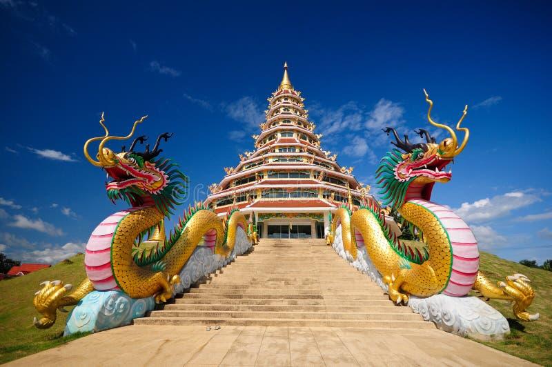 Pagoda de dragon photo stock