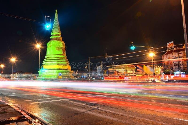 Pagoda light stock image